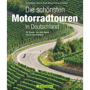 40 Motorradtouren in Deutschland Bruckmann Verlag