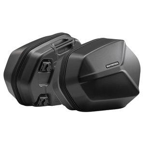 AERO ABS-Seitenkoffer-Set Schwarz SW-Motech