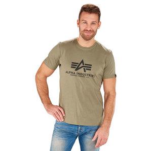 Alpha Industries Basic T T-Shirt Oliv