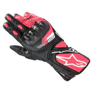 Alpinestars Stella SP-8 V3 Damen Handschuhe Schwarz Weiss Pink alpinestars