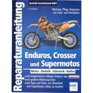 Bucheli Reparaturanleitung Enduros- Crosser und Supermotos- 176 S- Motobuch Verlag