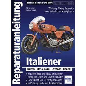 Bucheli Reparaturanleitung Italiener Technik-Sonderband 6006
