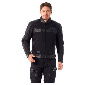 Büse Ferno Textil-Lederjacke Schwarz BÜSE