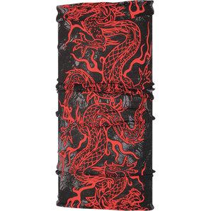 Buff Xin Yang Louis Special Multifunktionstuch Schwarz Rot
