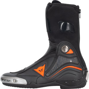 Dainese Axial D1 Stiefel Schwarz Neon Rot