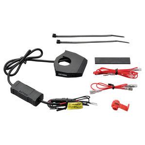 DAYTONA SLIM TYPE 2-Fach USB-Steckdose 12V-5V zur Lenkerbefestigung Daytona Corporation