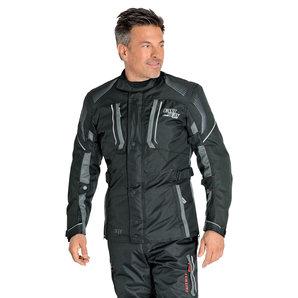 Fastway Season Textiljacke Schwarz Grau FASTWAY