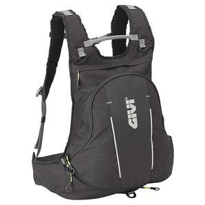 Givi Rucksack mit Helmtasche 22 Liter- erweiterbar- schwarz