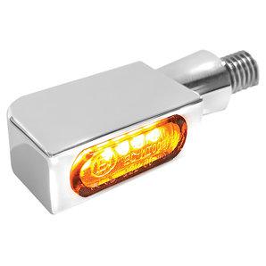 HeinzBikes BLOKK-Line MICRO 3in1 SMD-LED-Blinker- schwarz- hinten- Stück