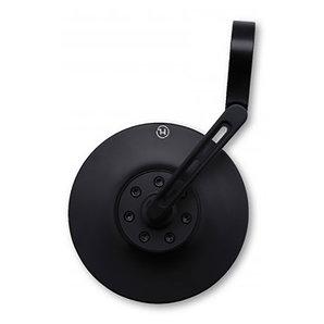 HIGHSIDER Kurzer Lenkerendenspiegel CONERO 2 Black Edition Highsider