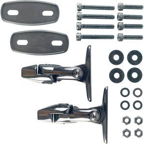 Magazi Adapter für Verkleidungen Schwarz- Set magazi