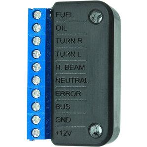 motogadget Anschluss-Box A für Kontrolllampen