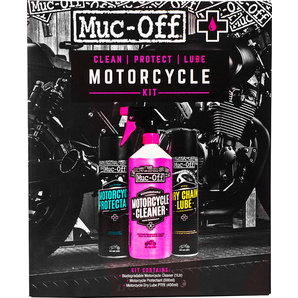 Muc-Off Motorcycle Clean- Protect- Lube Kit