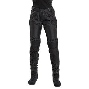 Probiker Sport Damen Textilhose Schwarz