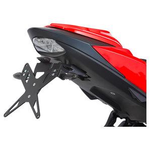 PROTECH Kennzeichenhalter X-SHAPE für diverse Modelle- schwarz