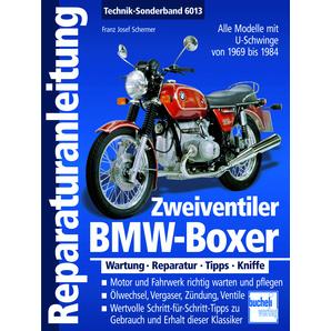 Reparaturanleitung BMW-Boxer Alle Modelle mit U-Schwinge Motobuch Verlag