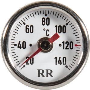 RR-Öltemperatur-Direktanzeiger für viele Fahrzeuge- Zifferblatt weiss RR