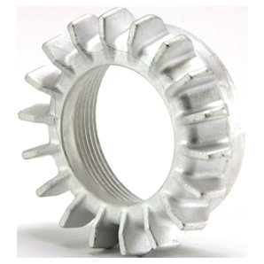 Siebenrock Aluminium Sternmutter