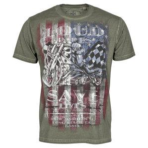 WCC USA Loud Pipes- T-Shirt Oliv